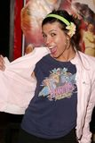 Veronique Williams. Wearing a T-Shirt featuring her father Paul Williams at the World Premiere of Warner Bros. Starsky & Hutch at Mann Village Theater, Westwood Stock Image