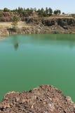 Verontreinigd water Stock Afbeeldingen