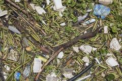 Verontreinigd water Stock Foto's