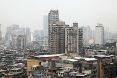 Verontreiniging in China Stock Afbeelding