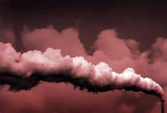 Verontreiniging/het globale verwarmen Stock Afbeelding
