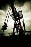 Verontreiniging van fossiele brandstof en het globale verwarmen Royalty-vrije Stock Foto