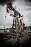 Verontreiniging van fossiele brandstof en het globale verwarmen Stock Afbeelding