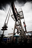 Verontreiniging van fossiele brandstof en het globale verwarmen Royalty-vrije Stock Fotografie