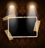 Verontruste antiquiteit photoframes royalty-vrije illustratie