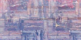 Verontruste bekledingstextuur van geroest gepeld metaal Kan als prentbriefkaar worden gebruikt abstracte halftone vectorillustrat stock illustratie