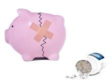 Verontruste financiën stock afbeeldingen