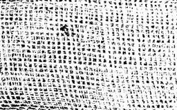 Verontruste Gebarsten Bekledingstextuur van Oude Jute Stock Afbeelding