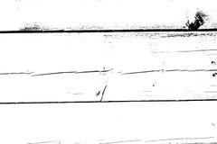 Verontruste halftone grunge vectortextuur - oude houten krasachtergrond Zwart-witte vectorillustratie voor stof Royalty-vrije Stock Afbeelding