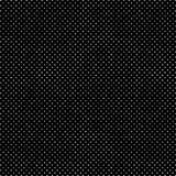 Verontruste Halftone Hand Getrokken Polka Dots Dark Pattern Background vector illustratie