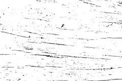 Verontruste houten oppervlaktetextuur Oude houten oppervlakte Zwarte textuur op transparante bekleding royalty-vrije illustratie