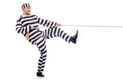 Veroordeel misdadiger Stock Foto's