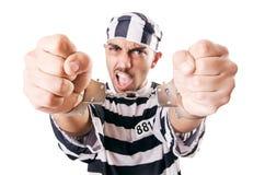 Veroordeel misdadiger Royalty-vrije Stock Afbeelding