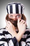 Veroordeel misdadiger royalty-vrije stock fotografie