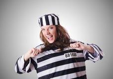 Veroordeel misdadiger Stock Foto