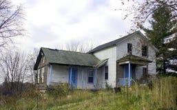 Veroordeeld en Verlaten Huis stock foto's