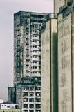 Veroordeelde die gebouwen als krottenwijk worden gebruikt royalty-vrije stock foto