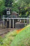 Verordening van riviercursussen royalty-vrije stock afbeelding