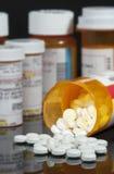 Verordnungs-Pillen Stockbild