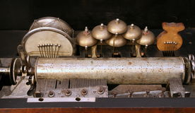 Verouderde antieke fonograaf 1 Stock Foto