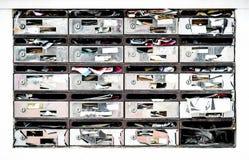 Verouderde brievenbussen Royalty-vrije Stock Foto