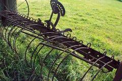 Verouderde landbouwbedrijfapparatuur Stock Fotografie