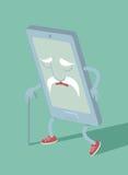 Verouderde smartphone Stock Afbeelding