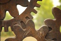 Verouderde Toestellen die Kunstwerken worden Stock Fotografie