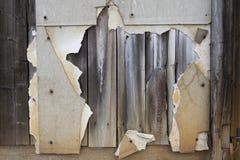 Verouderende Gebroken Muur Stock Foto's