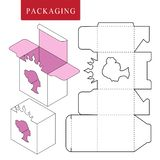 Verpacken f?r Kosmetik- oder skincareprodukt vektor abbildung