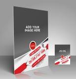 Verpacken-Wettbewerbs-Flieger Lizenzfreie Stockbilder