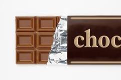Verpackung der Aluminiumfolie und des Papiers der Schokolade Lizenzfreie Stockbilder