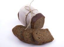 Verpackung des dunklen Brotes Lizenzfreies Stockbild