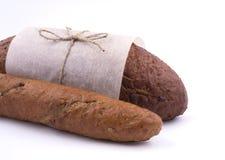 Verpackung des dunklen Brotes Lizenzfreies Stockfoto