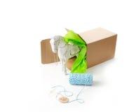 Verpackung des Geschenks Lizenzfreies Stockfoto