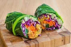 Verpackung des strengen Vegetariers Lizenzfreies Stockfoto