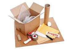 Verpackungsfelder lizenzfreies stockbild