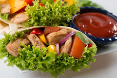 Verpackungssandwich Lizenzfreies Stockfoto