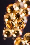 Verpackungstabletten in der Blase auf einem Hintergrund Stockbild