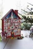 Verpakkend Document en Toebehoren voor Kerstmis Royalty-vrije Stock Foto's