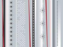 Verpakkend document zilver Stock Afbeeldingen