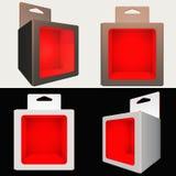 Verpakkende ontwerp-Doos Royalty-vrije Stock Foto's