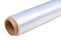 Verpakkende plastic rekfilm Stock Foto