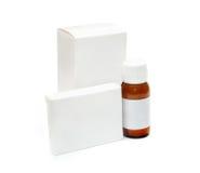 Verpakking van geneesmiddelen Stock Afbeelding