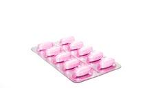 Verpakking van pillen Stock Fotografie