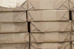 Verpakkingsboeken voor post Stock Foto's