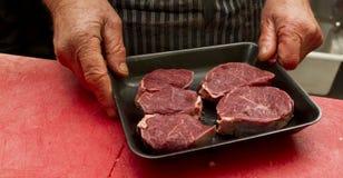 Verpakkingsvlees Royalty-vrije Stock Afbeeldingen