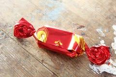 Verpakte chocolade royalty-vrije stock afbeeldingen