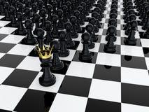 Verpand koning Royalty-vrije Stock Foto