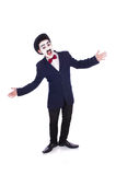 Verpersoonlijking van Charlie Chaplin Stock Fotografie